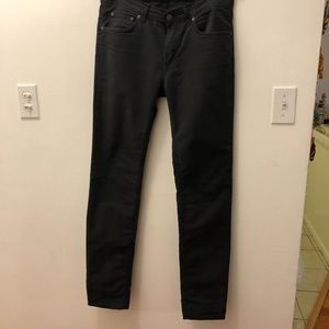 Acne Studios Men's Black Chinos